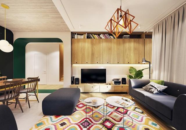 Tạo điểm nhấn ấn tượng cho ngôi nhà với màu xanh lá cây - Ảnh 2.