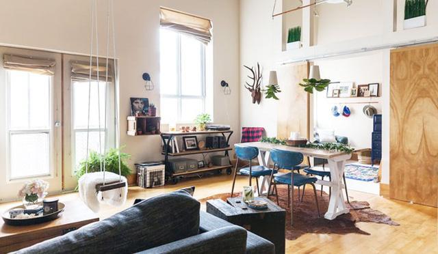 Ngôi nhà mới tận dụng nội thất cũ khéo léo - Ảnh 2.