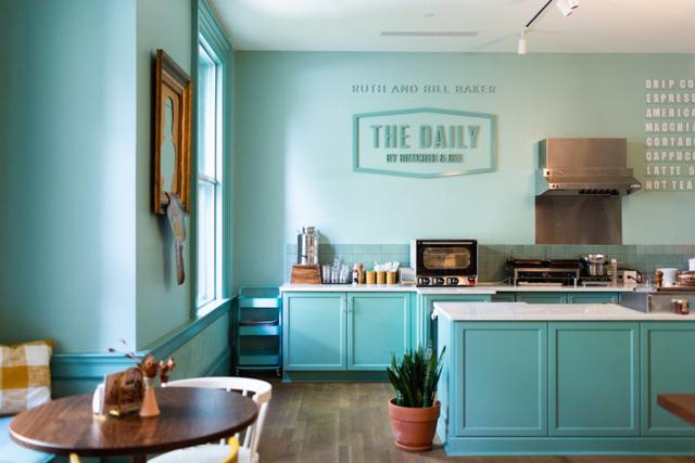 Ý tưởng thiết kế quán cà phê phong cách trẻ trung - Ảnh 2.
