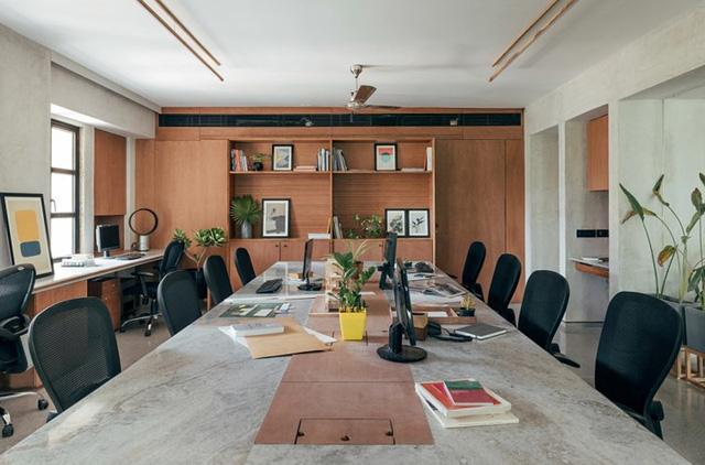 Văn phòng xanh mát mắt gần gũi với thiên nhiên - Ảnh 11.