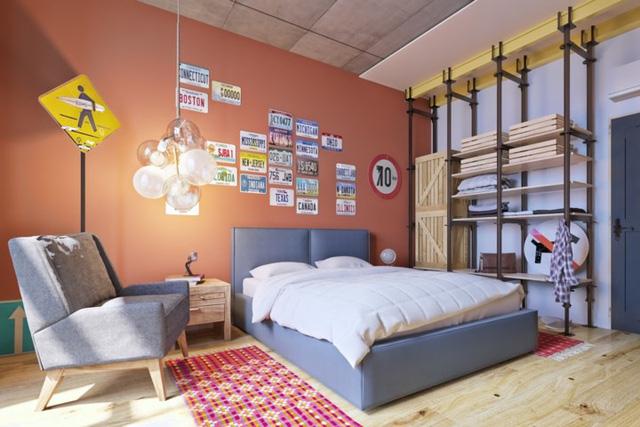 Mẫu phòng ngủ sáng tạo dành cho thanh thiếu niên - Ảnh 12.