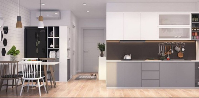 Chiêm ngưỡng những thiết kế bếp đẹp và hiện đại cho nhà chung cư - Ảnh 13.