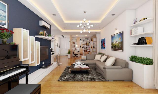 5 yếu tố giúp bạn thiết kế nội thất chung cư ấn tượng - Ảnh 3.