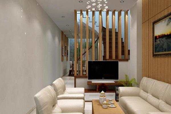 Những ý tưởng thiết kế nội thất phòng khách nhà ống năm 2019 - Ảnh 3.