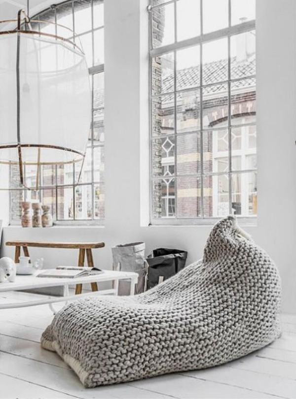 Những ý tưởng trang trí nhà bằng len cho không gian sống mùa đông vừa đẹp vừa ấm - Ảnh 9.