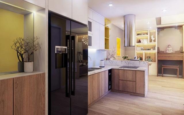 Chiêm ngưỡng những thiết kế bếp đẹp và hiện đại cho nhà chung cư - Ảnh 10.